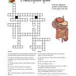 Crossword About Digestive System Tag Digestive System Crossword   Anatomy Crossword Puzzles Printable