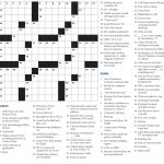 Crossword Puzzle – Crossword Puzzle – Hamilton College Pertaining To   College Crossword Puzzle Printable
