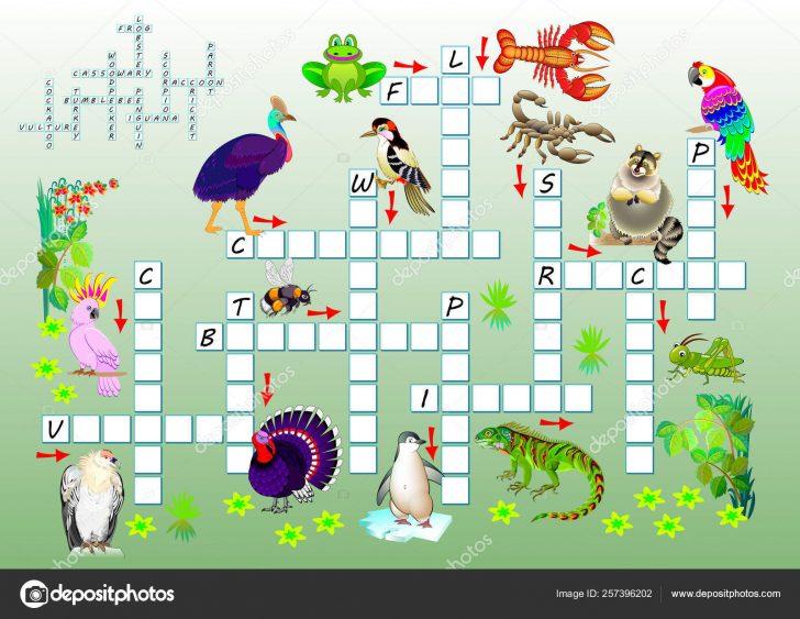Printable Cartoon Crossword Puzzles