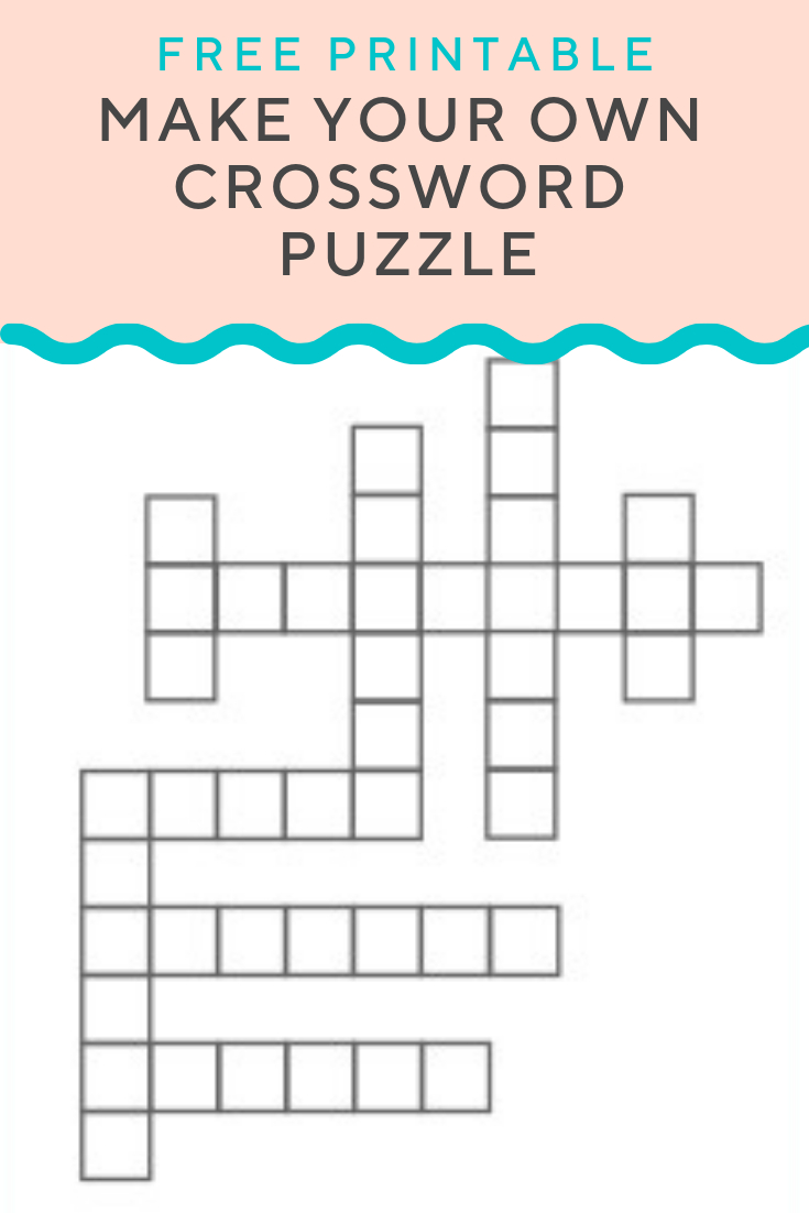 Crossword Puzzle Generator | Create And Print Fully Customizable - Create A Crossword Puzzle Free Printable