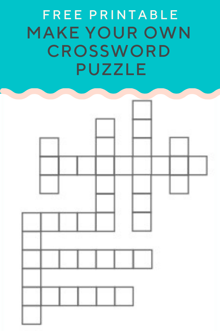 Crossword Puzzle Generator | Create And Print Fully Customizable - Make Your Own Crossword Puzzle Printable