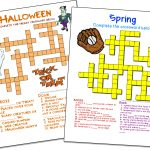 Crossword Puzzle Maker | World Famous From The Teacher's Corner   Printable Crossword Template