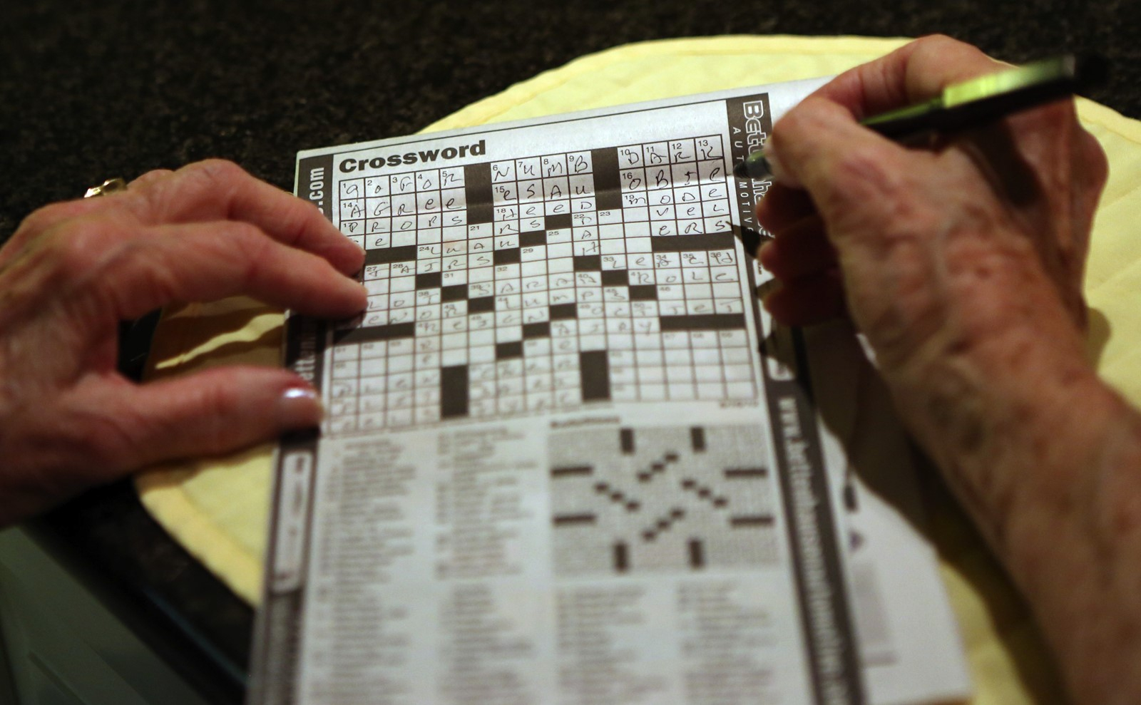 Crossword Puzzle Offers Peace In A Noisy World - South Southwest - Printable Crossword Puzzles Chicago Tribune