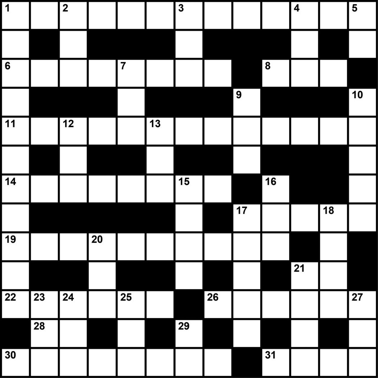 Crossword Puzzle: Sleep Medicine-Themed Clues (August/september 2017 - Printable Crossword Puzzles August 2017