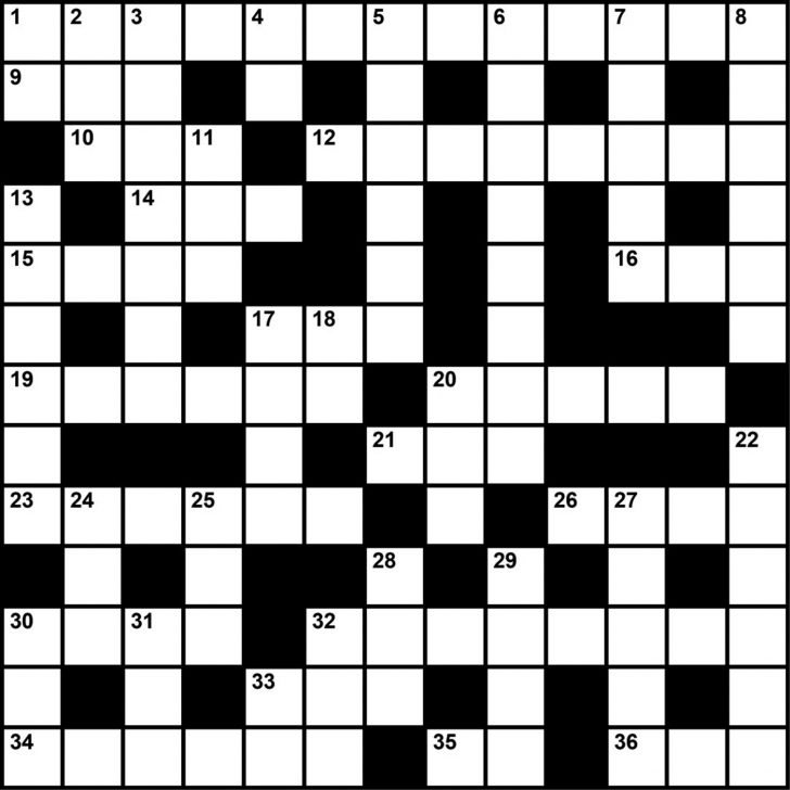 Printable Crossword Puzzles Business And Finance