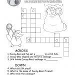 Crossword Puzzle Worksheet (Free Printable)   Printable Children's Crossword Puzzles