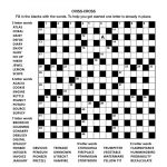 Crossword Puzzles   Printable Crossword Puzzles In Afrikaans