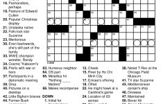 Crossword Puzzles Printable – Yahoo Image Search Results | Crossword – Los Angeles Times Crossword Puzzle Printable