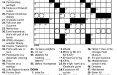 Crossword Puzzles Printable – Yahoo Image Search Results | Crossword – Printable Crossword Puzzles For December 2017