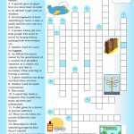Crossword: Traveling Worksheet   Free Esl Printable Worksheets Made   Printable Crossword Esl