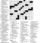 Crosswords: Algebra   Printable Crossword Puzzle Ny Times