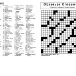 Crosswords Archives | Tribune Content Agency   Printable Commuter Crossword Puzzle