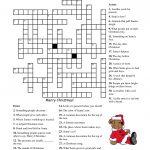 Crosswords For Kids Christmas   K5 Worksheets   Christmas Activity   Free Printable Christmas Crossword Puzzles