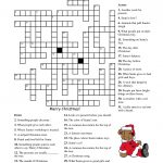 Crosswords For Kids Christmas | K5 Worksheets | Christmas Activity   Printable Crosswords For 6 Year Olds