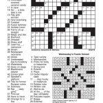 Crosswords, October 20, 2016 | Crosswords | Redandblack   Printable Commuter Crossword Puzzle