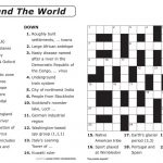 Crosswords Printable Crossword Puzzle Maker Online Free To Print – Free Printable Crossword Puzzle Template