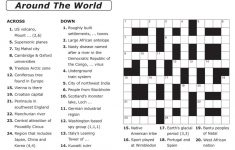 Crosswords Printable Crossword Puzzle Maker Online Free To Print – Free Printable Crossword Puzzle Template