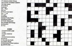 Crosswords Printable Crossword Puzzles For Middle School Puzzle – Printable Crossword Puzzles Middle School