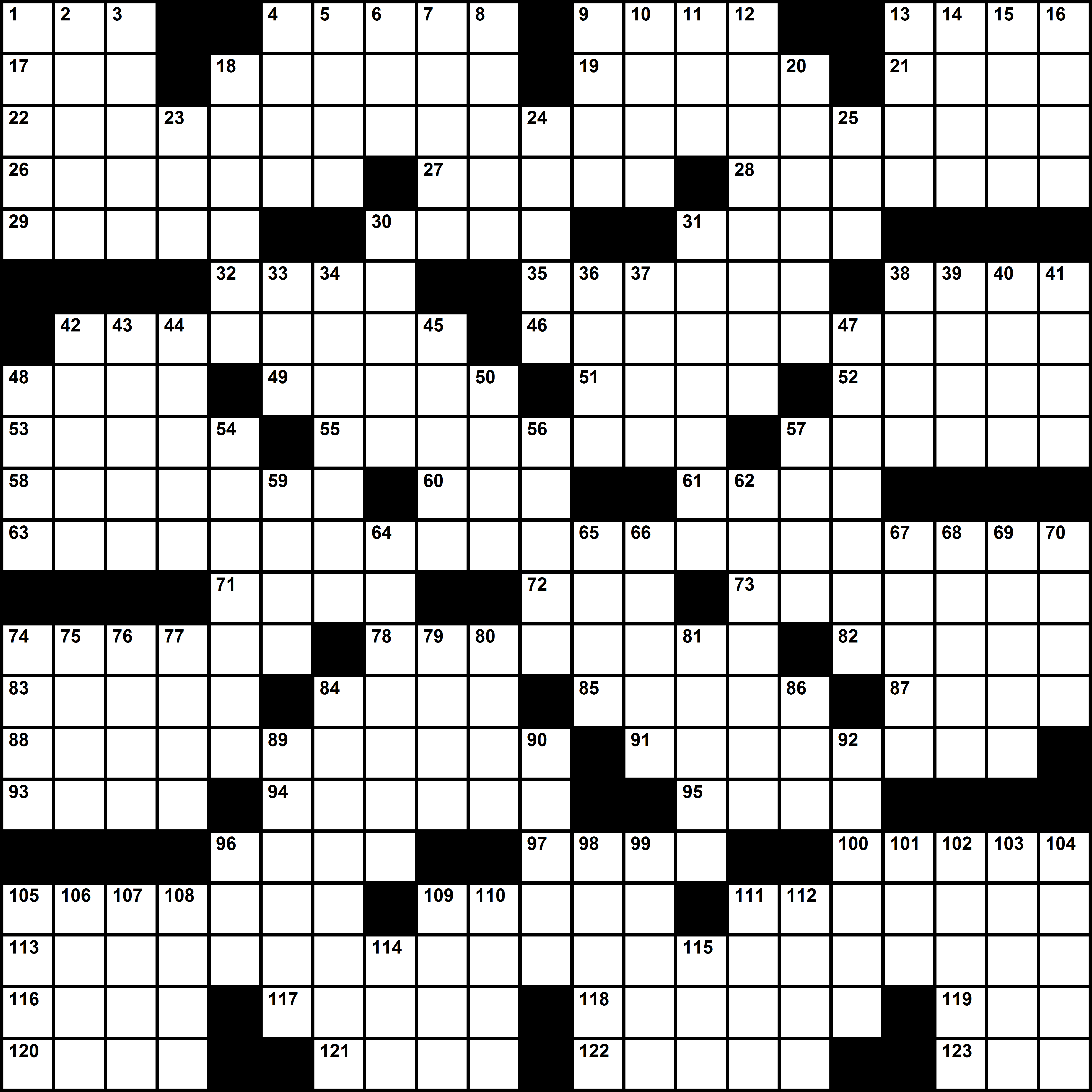 Crosswords - Timothy Parker Crosswords - Printable Crossword Puzzles Timothy Parker