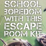 Crush Classroom Boredom With This Hack. | Middle School Language   Printable Escape Room Puzzle