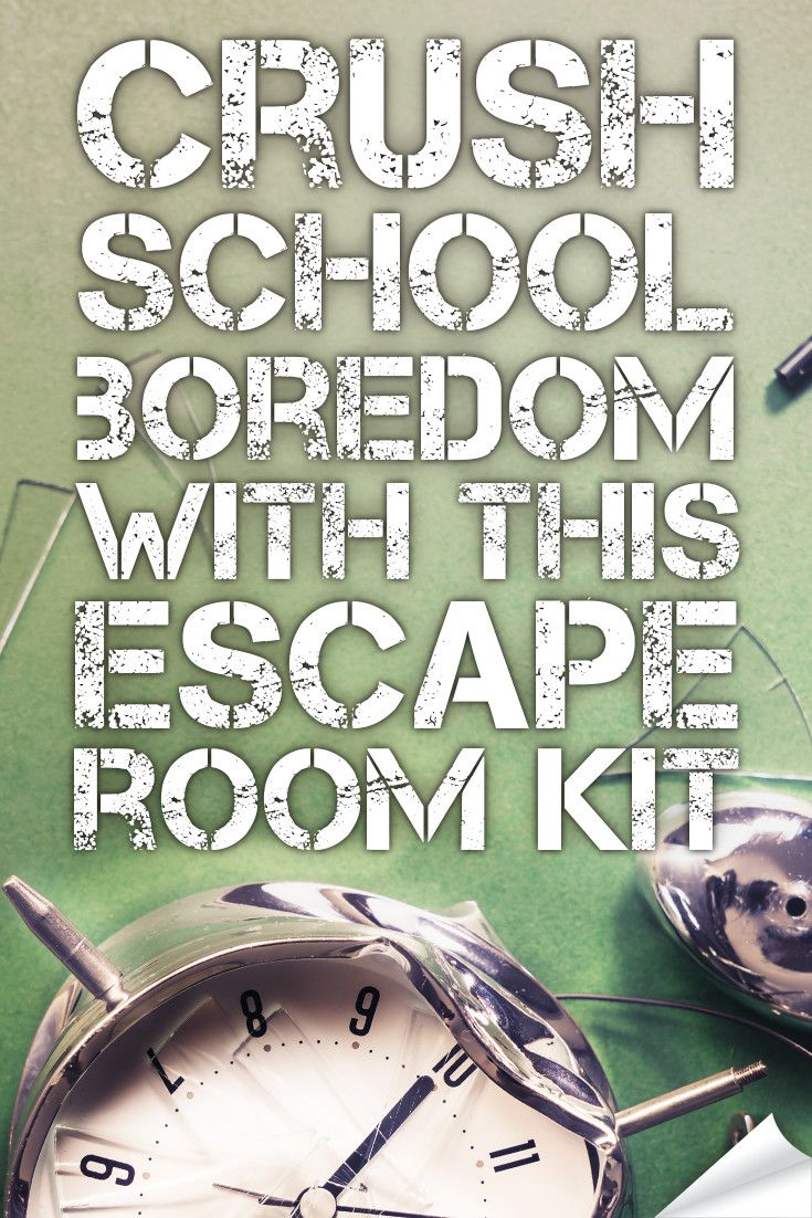 Crush Classroom Boredom With This Hack. | Middle School Language - Printable Escape Room Puzzles