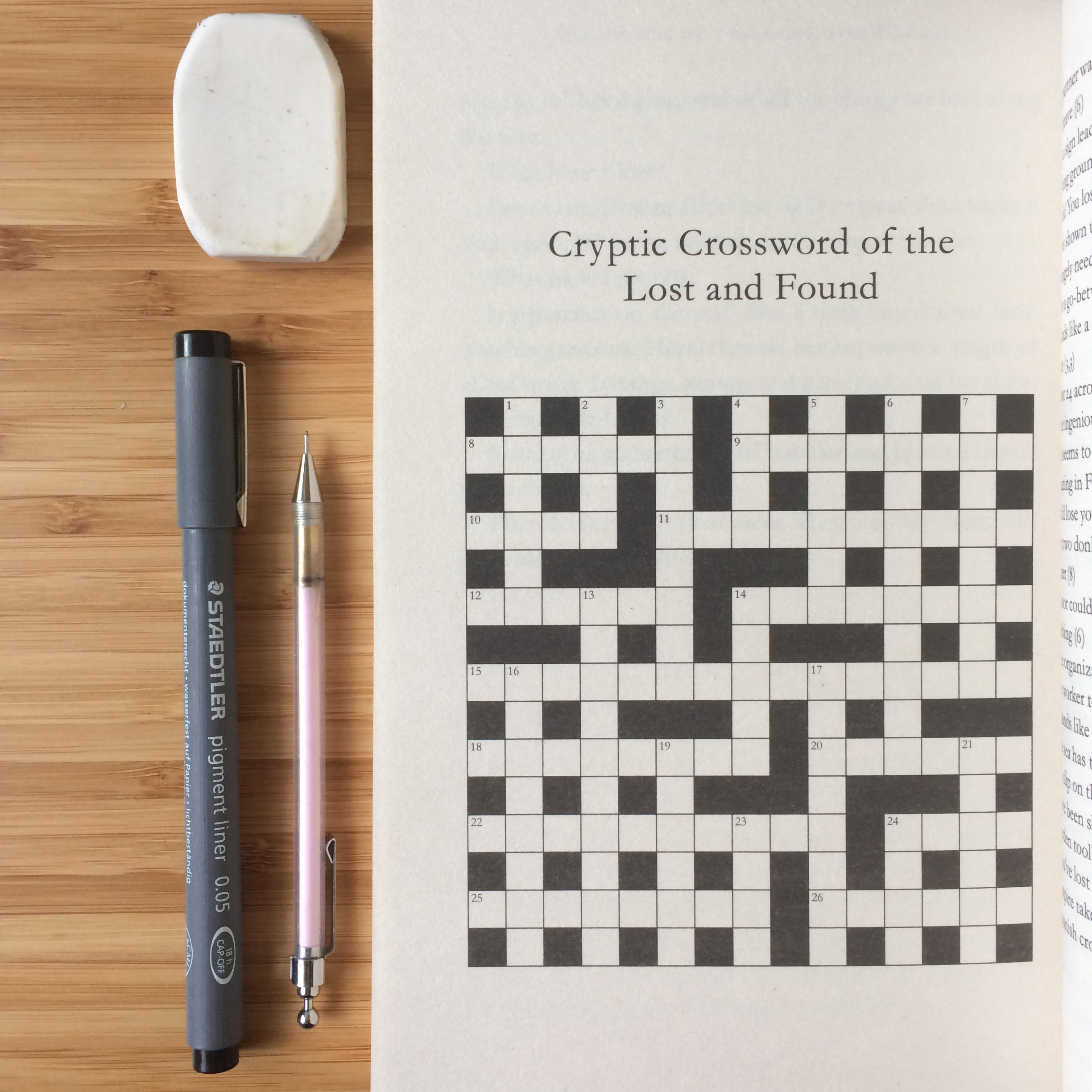 Cryptic Crossword Of The Lost And Found – Moïra Fowley-Doyle - Printable Crossword Guardian