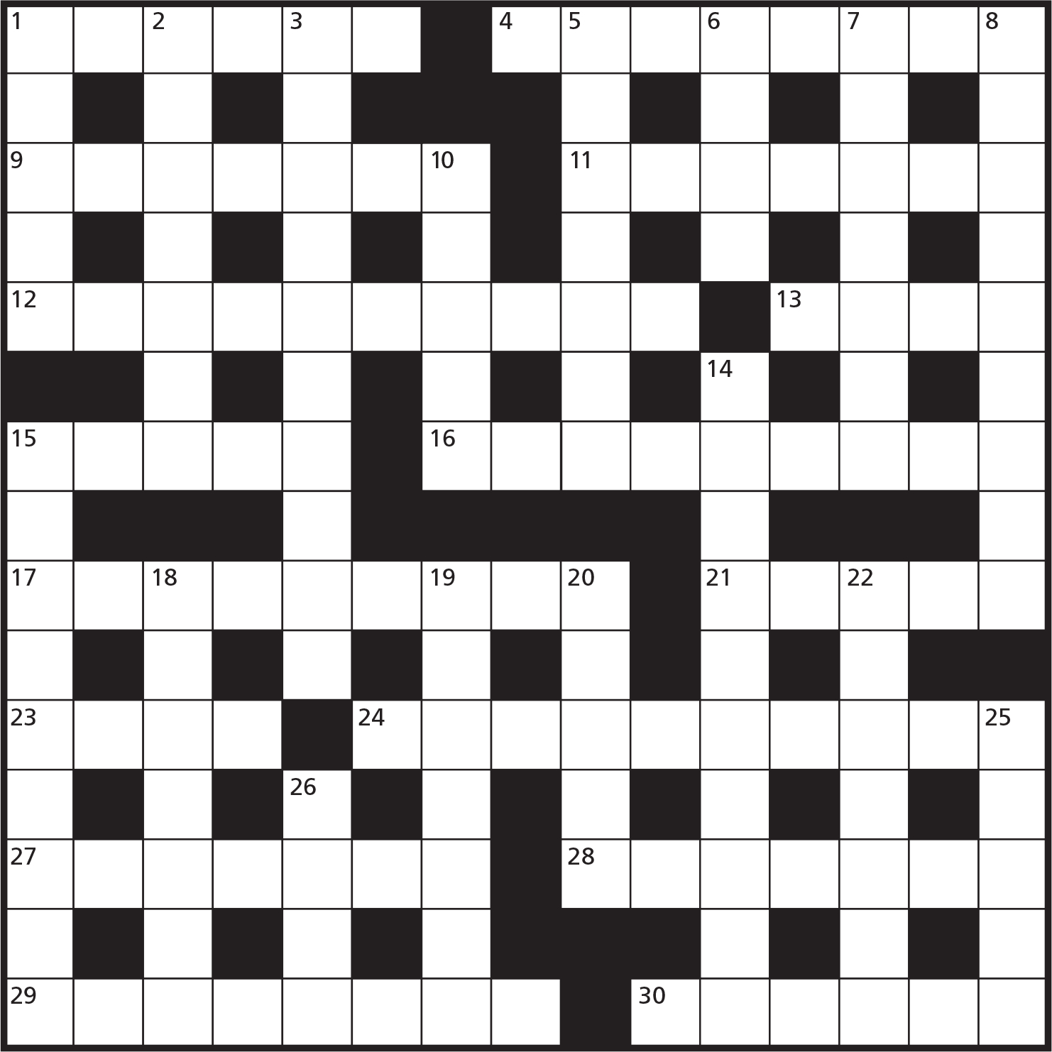 Cryptic Crosswords – Games World Of Puzzles - Printable Reverse Crossword Puzzle