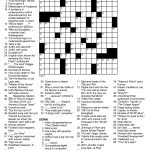 Daily Crossword Puzzle Printable – Jowo   Free Daily Printable   Printable Daily Puzzle
