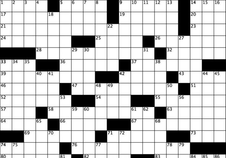 Nfl Football Crossword Puzzles Printable