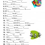 Diltoids  Number/letter Puzzles Worksheet   Free Esl Printable   Printable Ditloid Puzzles