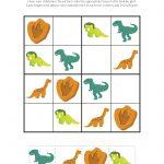 Dinosaur Sudoku Puzzles {Free Printables} | Education Ideas | Sudoku   Printable Dinosaur Puzzles