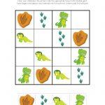 Dinosaur Sudoku Puzzles {Free Printables}   Gift Of Curiosity   Printable Dinosaur Puzzles