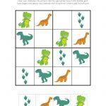 Dinosaur Sudoku Puzzles {Free Printables}   Sudoku   Sudoku Puzzles   Printable Dinosaur Puzzle