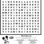 Disney Word Search Puzzle | Kiddo Shelter   Printable Disney Puzzles