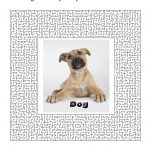 Dog Party Games, Free Printable Games And Activities For A Theme   Printable Dog Puzzle