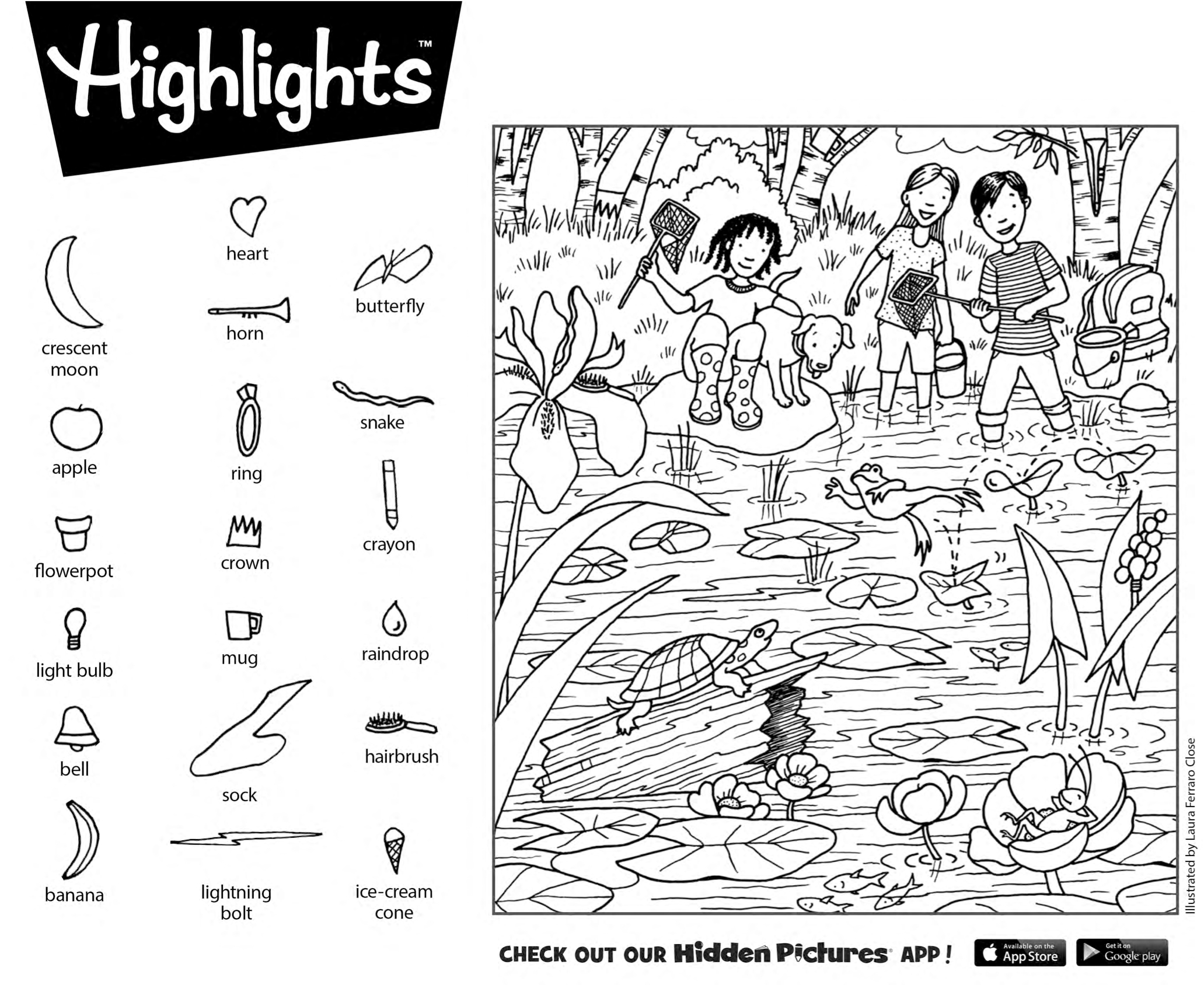 Download This Free Printable Hidden Pictures Puzzle From - Printable Hidden Puzzles