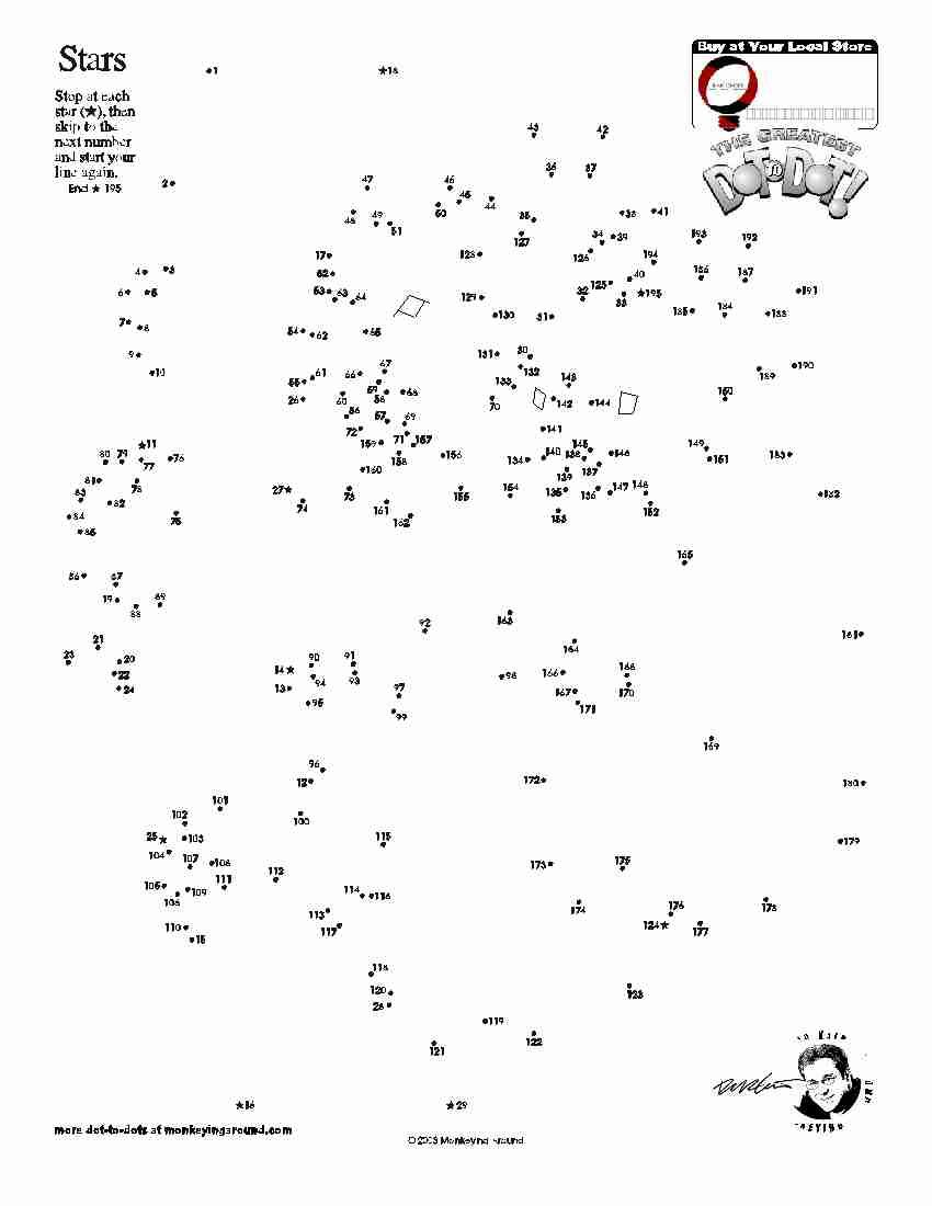 Downloadable Dot-To-Dot Puzzles | Dot To Dot | Dot To Dot Puzzles - Printable Dot Puzzle