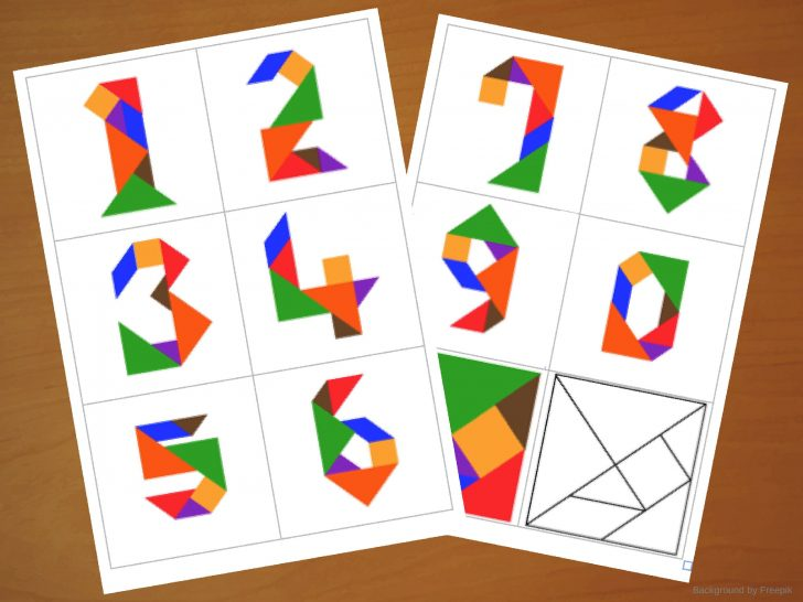 photo about Printable Tangram Puzzle Outlines called tangram puzzle Strategies Printable Crossword Puzzles