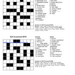 √ Printable English Crossword Puzzles With Answers   Printable Crossword Puzzles English