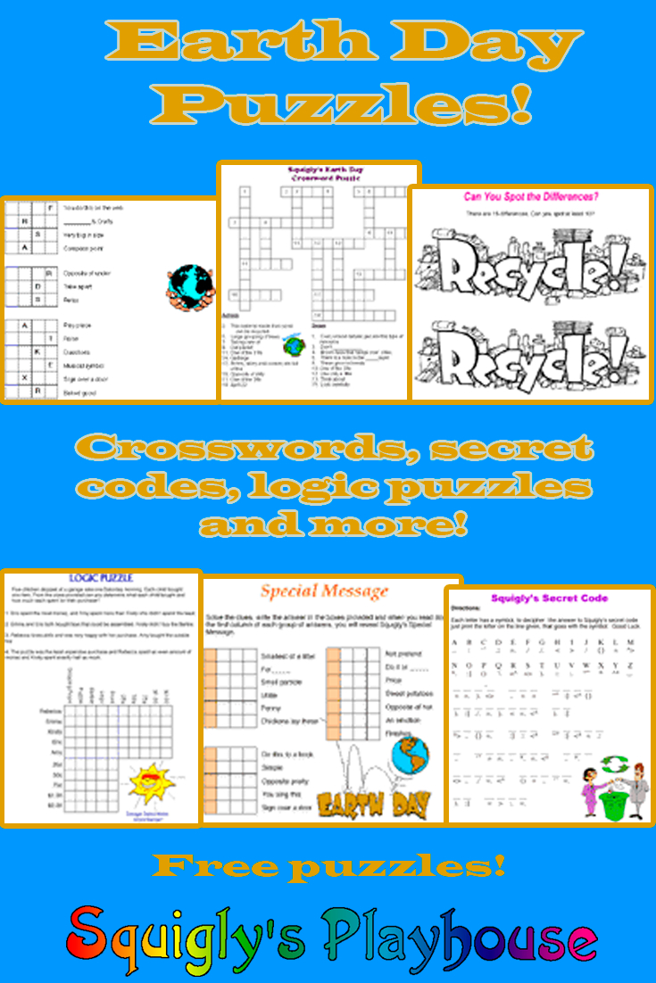 Earth Day Puzzles | Earth Day Activities | Pinterest | Earth Day - Printable Pencil Puzzles