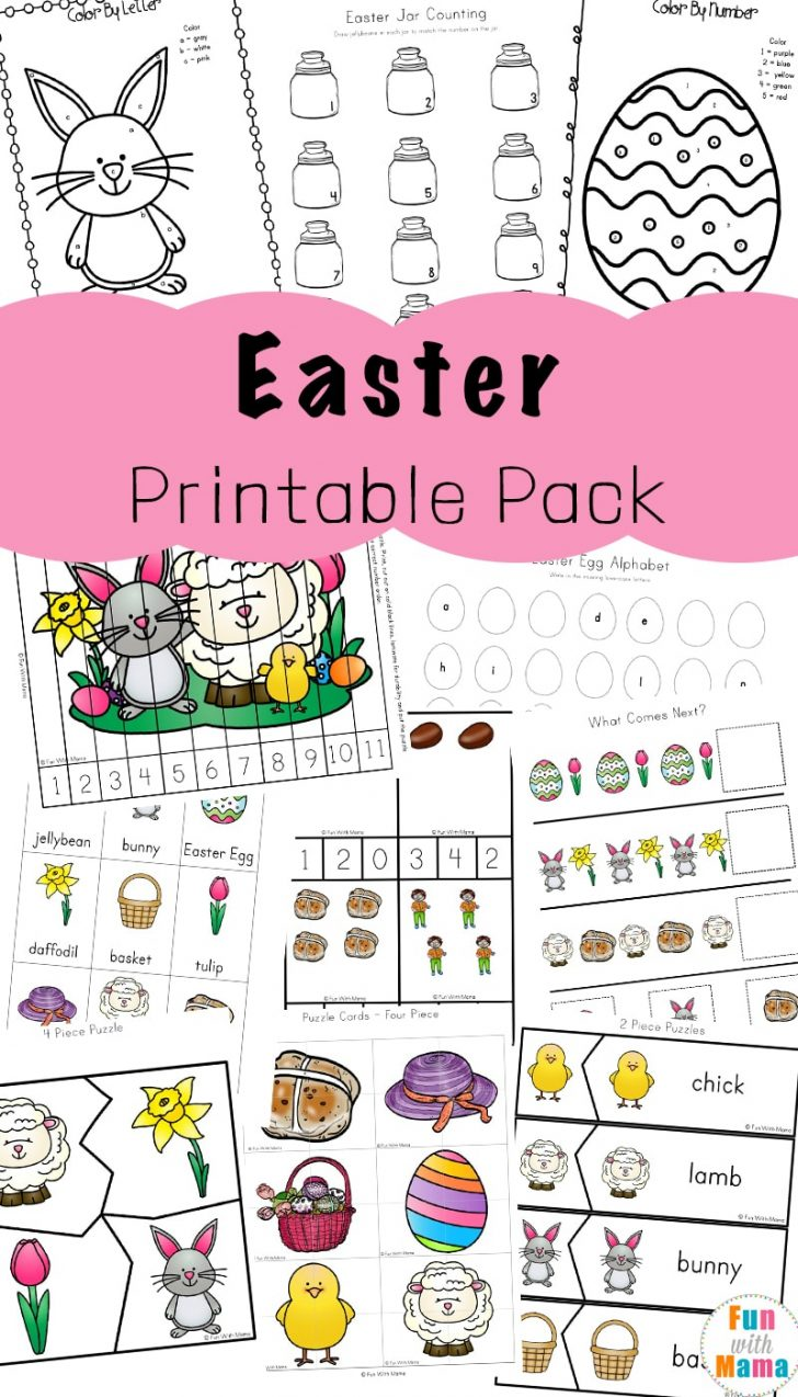 Printable Puzzles For Toddlers