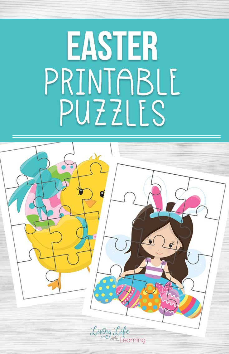 Easter Printable Puzzles - Printable Easter Puzzles For Adults