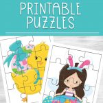 Easter Printable Puzzles   Printable Picture Puzzles