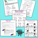 Easter Puzzles At Squigly's Playhouse   Printable Pencil Puzzles
