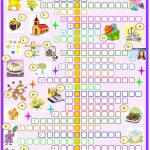 Easter:crossword Puzzle. Esl Worksheet Of The Day   Easter Crossword Puzzle Printable Worksheets
