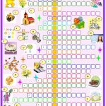 Easter:crossword Puzzle With Key Worksheet   Free Esl Printable   Printable Crossword Puzzles For Easter