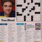 Easy Crossword Puzzles Online   Printable People Magazine Crossword Puzzles