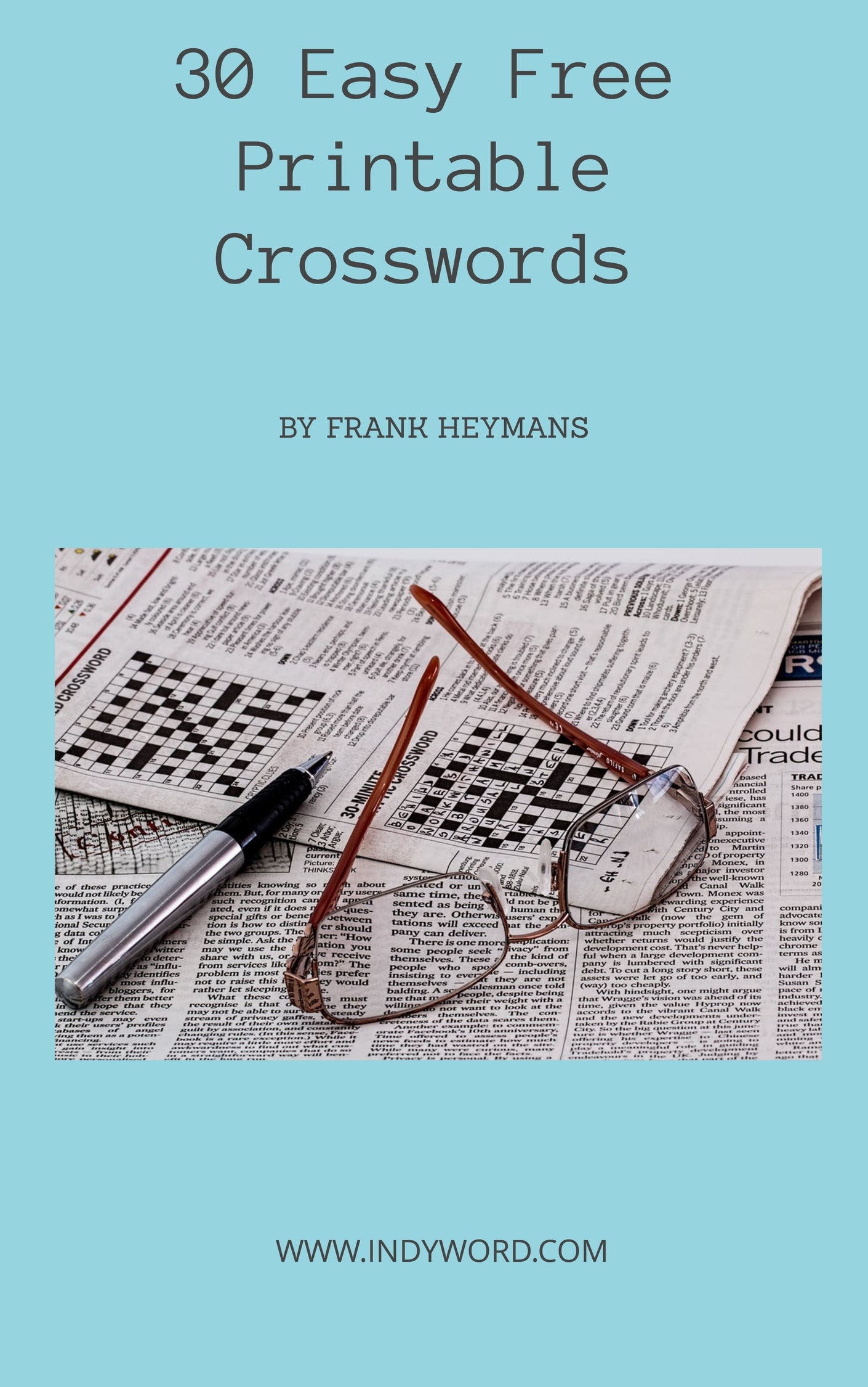 Easy Crossword Puzzles Printable - Find Free Printable Crossword Puzzles