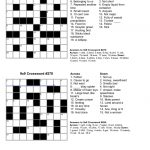 Easy Kids Crossword Puzzles | Kiddo Shelter | Educative Puzzle For   Make My Own Crossword Puzzles Printable