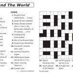 Easy Printable Crossword Puzzles   Elder Care & Dementia Care   Printable Crossword Puzzles For Students